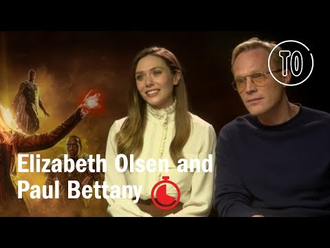 Timed Out: Elizabeth Olsen and Paul Bettany 'Avengers: Infinity War'  Time Out London