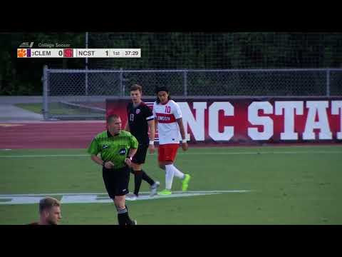 2017.09.08 #3 Clemson Tigers at NC State Wolfpack Men's Soccer