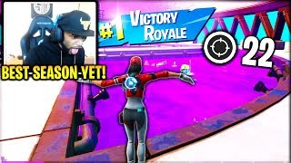 DAEQUAN *FIRST* Victory Royale in Fortnite Chapter 2! (SEASON 1)