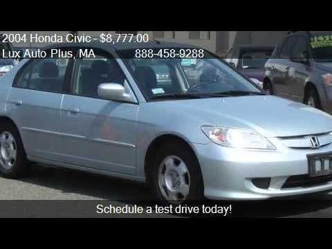 2004 Honda Civic HYBRID 48 MPG BLUE 92K MILES   For Sale In