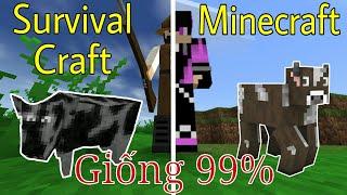 Nếu Chán Minecraft, Bạn Hãy Thử Chơi Game Này !!! | Giống Minecraft Đến 99%