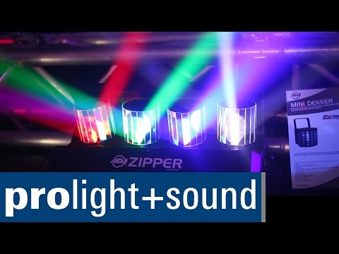 American DJ Zipper | Prolight + Sound 2015