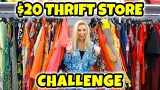 Thrift Store Challenge. Best Friends Spend $20 on Each Other's Outfits. Totally TV.