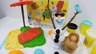 Play-Doh Disney Frozen Verão de Olaf - Massinhas de Modelar Hasbro