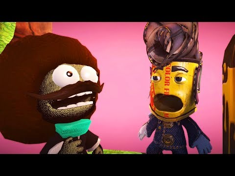 LittleBigPlanet 3 - Out Walking the Dog 2 - LBP3 Funny Animation