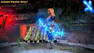 Path of Exile - Lunaris Weapon Effect