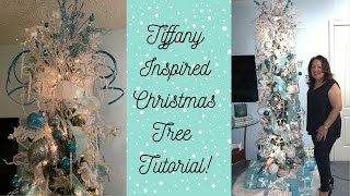 Tiffany Inspired Christmas Tree Tutorial - Decorate My Christmas Tree With Me