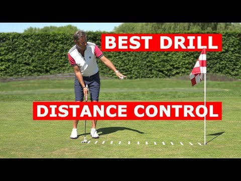 The best golf drill for better putting distance control