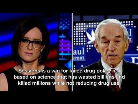 Ron Paul slams Jeff Sessions on the drug war, civil liberties
