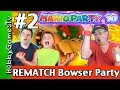 Mario Party 10 Bowser Party #2 REMATCH Nintendo Wii U GamePlay by HobbyGamesTV