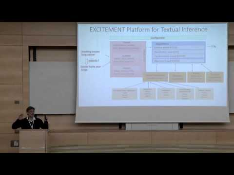 Textual Inference: Methods, Open Source Platform and Applications, Bar-Ilan University