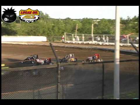 ASCS2 Chevy Ecotec Midgets Creek County Highlights 5-21-10