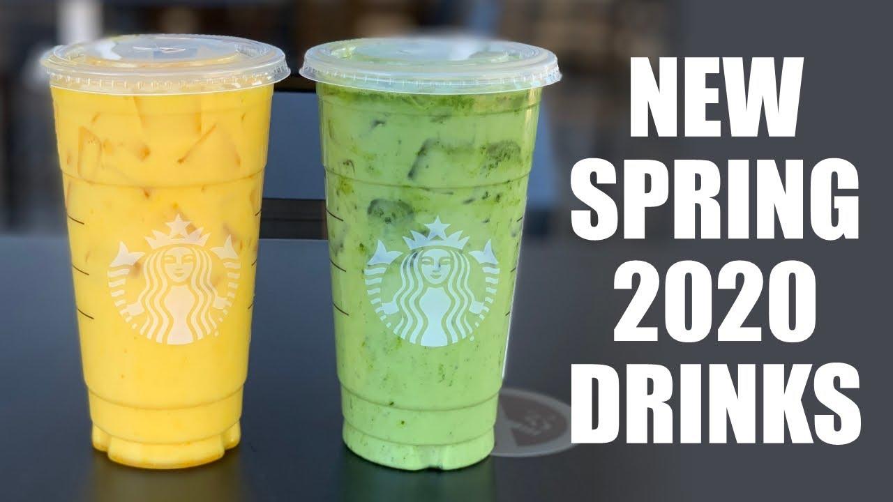 2 NEW Starbucks Drinks in Spring 2020!!