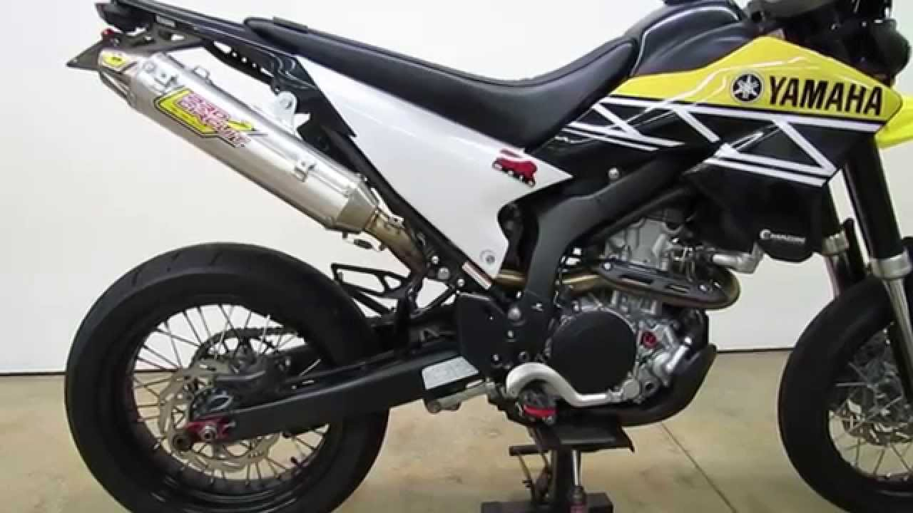 Yamaha WR250R WR250X Pro Circuit T4 Exhaust Package Review and Sound Demo  by SRmoto com