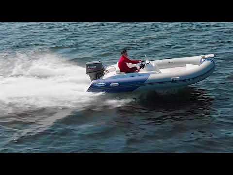 RIB EM450R - компактная быстрая лодка с продуманной эргономикой.