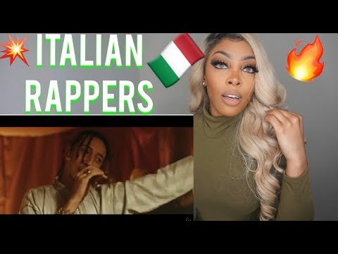 REACTING TO ITALIAN RAP MUSIC   GHALI,LALOUNG,SALMO,ZABSON,YOUNG SLASH,SFERA EBBASTA