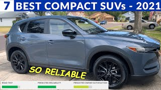 Best Compact SUVs Under $35K - Per Consumer Reports & US News Rating