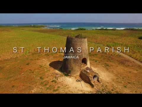 St. Thomas Parish, Jamaica 4K Aerial Video for Jamaica National Heritage Trust