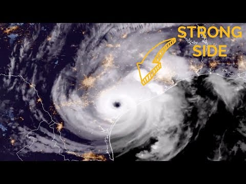 Is one side of a hurricane worse than another?