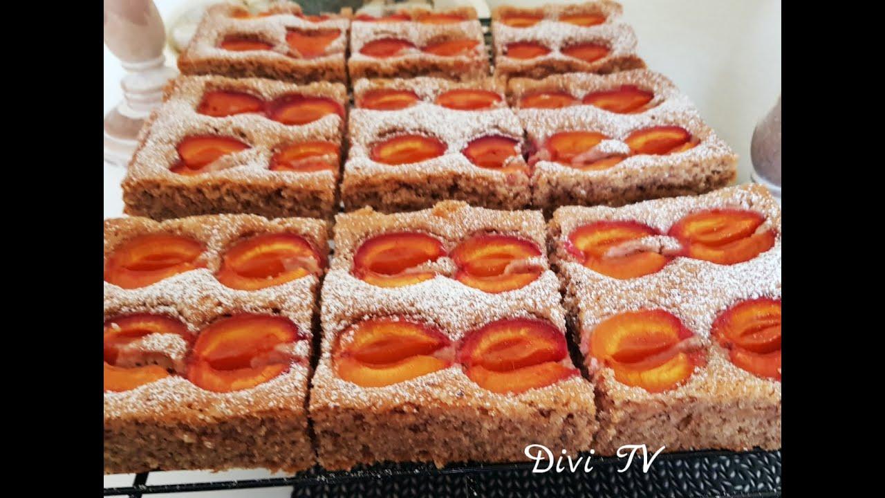 Marillen - Nusskuchen/ 10 min Kuchen/ Apricot Cake/ENG SUB