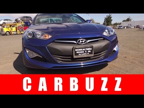 2016 Hyundai Genesis Coupe UNBOXING Review An American Muscle Car Alternative