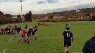 Cool rugby kick