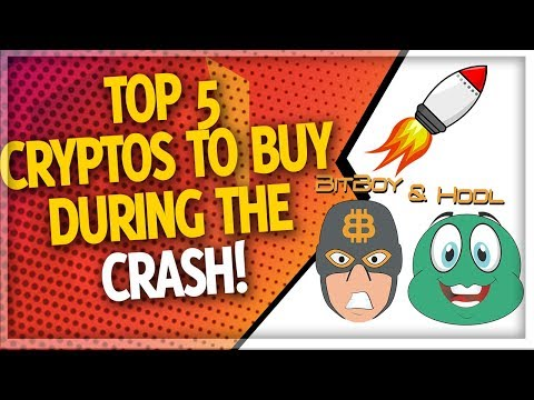 Top 5 Cryptocurrency For 2018 (Buy the Dip?!)