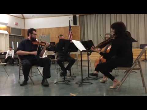 Kadima String Quartet at Van Gogh Charter 5-31-16