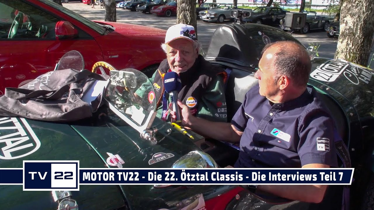 MOTOR TV22: Die 22. Ötztal Classis - Die Interviews Teil 7