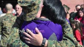 Marine leaves behind video for his Girlfriend
