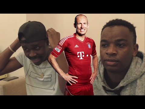 Barcelona Fans React To: Arjen Robben - The Fastest - Insane Speed Runs 1080p HD