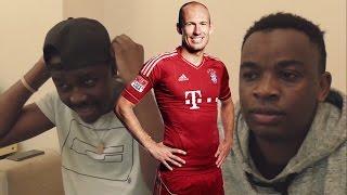 vuclip Barcelona Fans React To: Arjen Robben - The Fastest - Insane Speed Runs 1080p HD