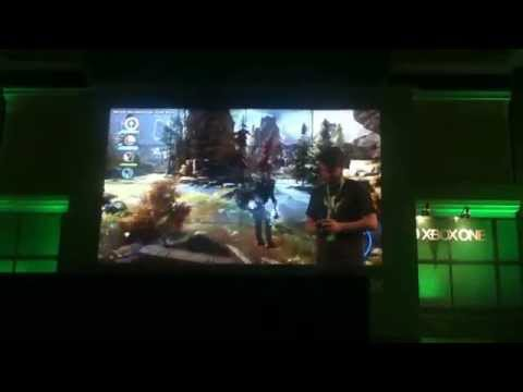 San Diego Comic Con 2014 Dragon Age Inquisition stage demo take 1