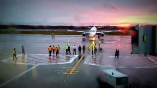 first jetblue pushback at worcester