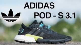 видео Кроссовки Adidas POD-S3.1 в Москве | Интернет-магазин спортивной обуви