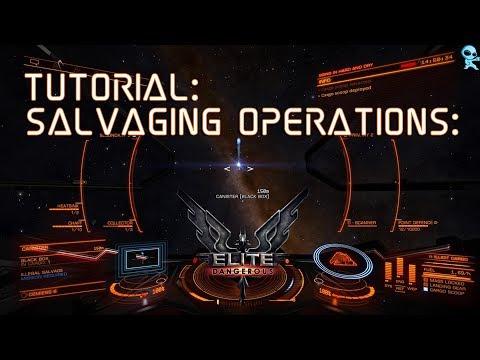 Elite Dangerous Tutorial: Salvage Operations