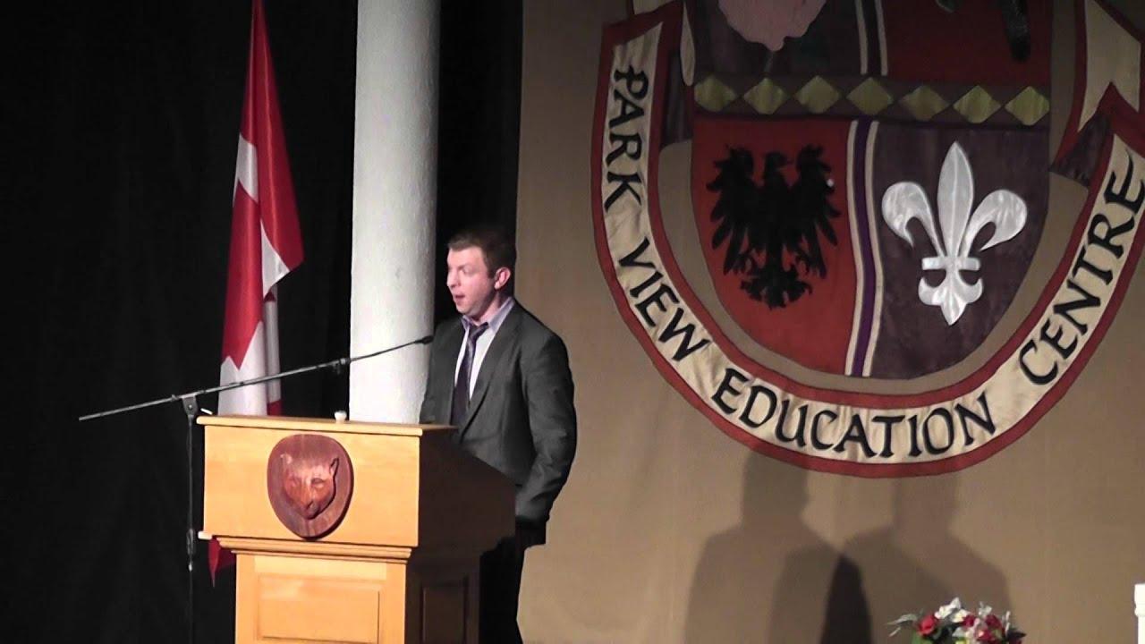 ... Education Centre 2014 High School Graduation - Guest Speaker - YouTube