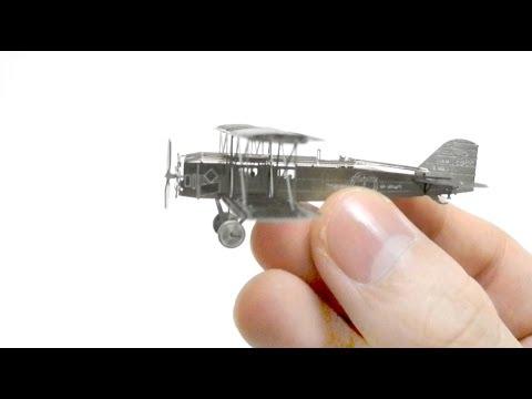 aerobase type 40 metal plane  nano model