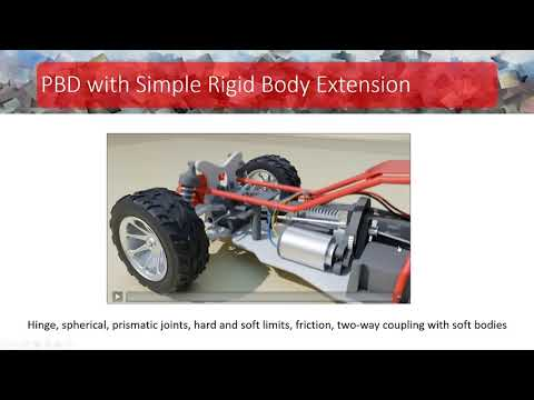 SCA2020: Detailed Rigid Body Simulation with Extended Position Based Dynamics