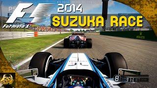F1 2014 | Japan 25% Race - Williams Gameplay (Legend AI)