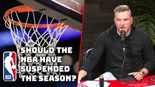 Was The NBA Right To Suspend The Season?