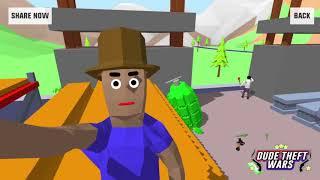 ОГРОМНАЯ ГРАНАТА И БАЗУКА ПАСХАЛКА В СИМУЛЯТОР КРУТОГО ЧУВАКА! - Dude Theft Wars: Open World