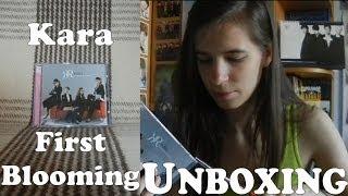 Unboxing - Kara - First Blooming - 1st Full album