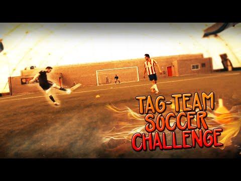 TAG-TEAM SOCCER CHALLENGE!