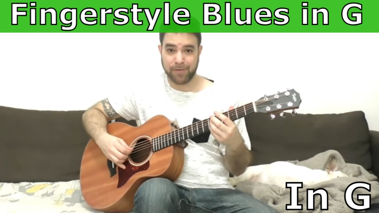 Lesson: Fingerstyle Blues in G (Soloing Ideas Toolbox) - Guitar Tutorial w/  TAB