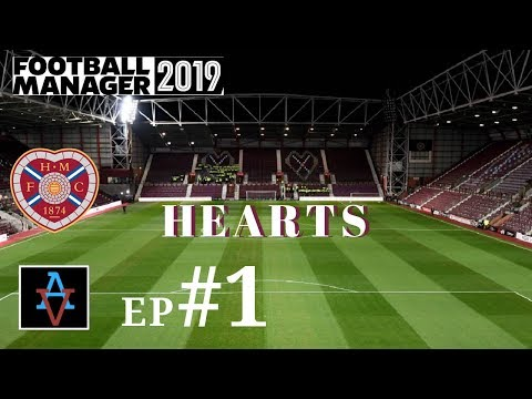 FM19 - Hearts Ep.1: Meet the Squad - Football Manager 2019 Let's Play