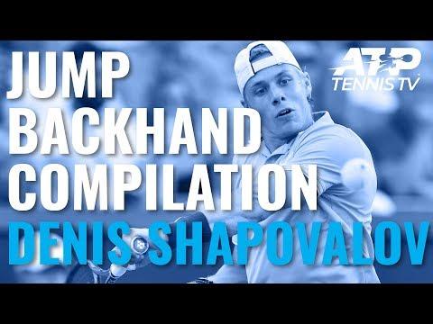 Denis Shapovalov Jump Backhand Compilation 💥