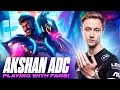 Rekkles | Akshan ADC: Playing with fans!