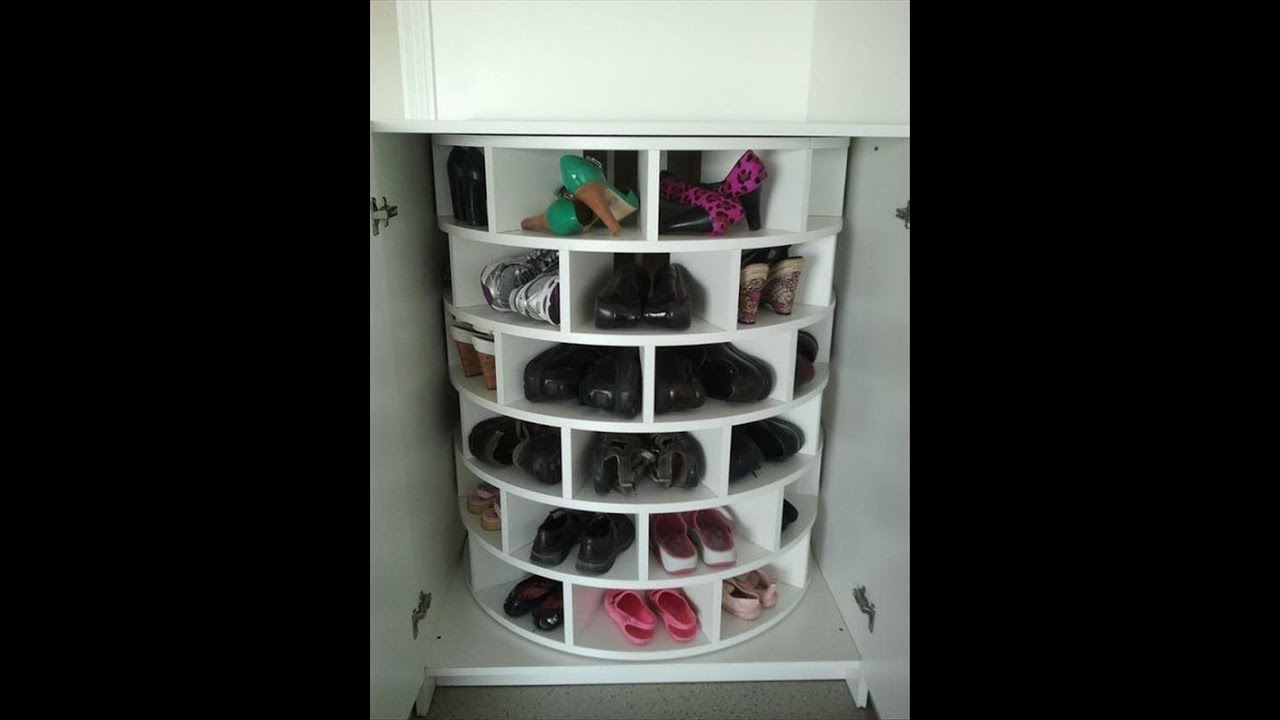 Kitchen cabinet corner carousel - Ideas Para Ordenar Tus Zapatos Youtube
