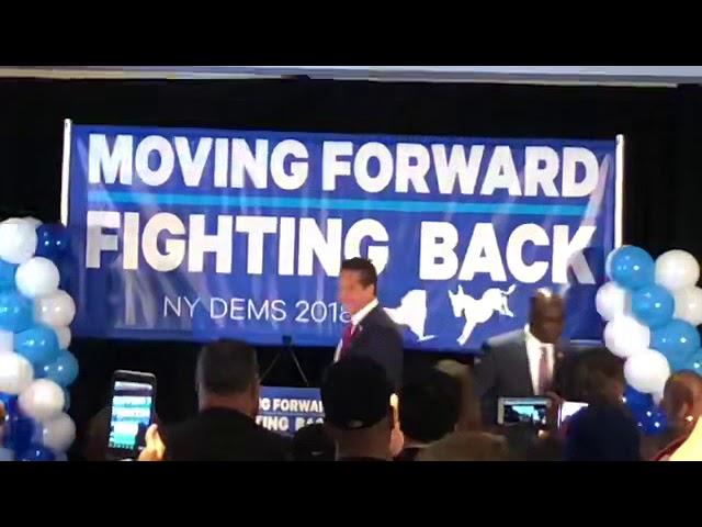 Andrew Cuomo y lideres demócratas de NY se preparan para las elecciones generales de Nov 18